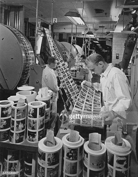 The Rochester New York Processing Lab at Kodak Park in Rochester New York State circa 1965