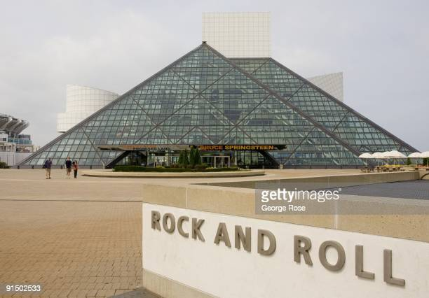 Image result for rock n roll hall of fame museum  getty images