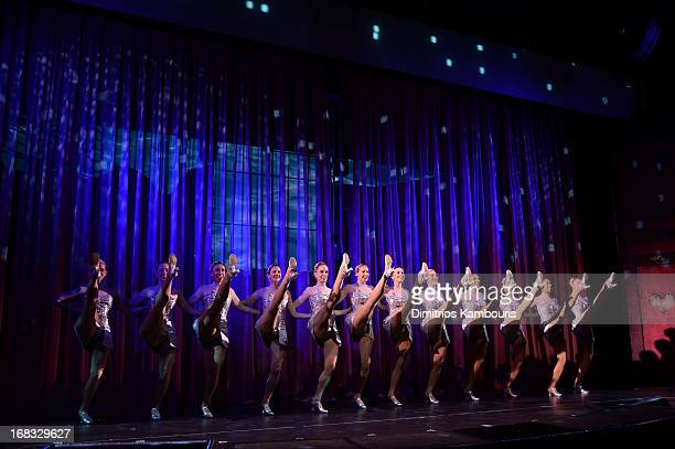 The Rockettes perform at Norwegian Breakaway Christening Ceremony on May 8 2013 in New York City