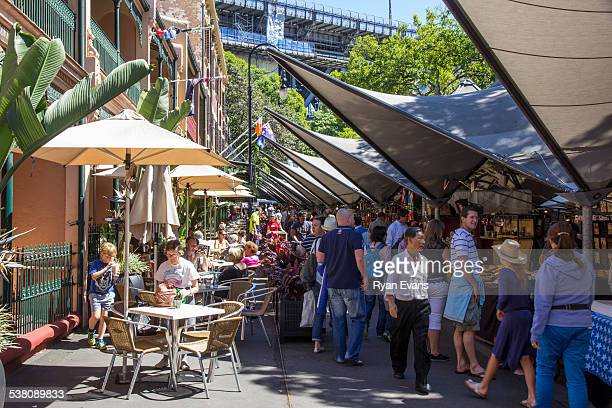 The Rocks Market in Sydney