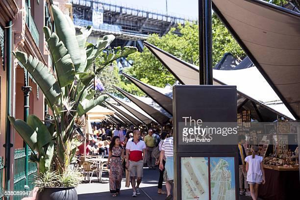 The Rocks Market in Sydney