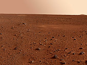 January 19, 2004 - This full-resolution image taken by the panoramic camera onboard the Mars Exploration Rover Spirit before it rolled off the lander shows the rocky surface of Mars. Scientists are ea