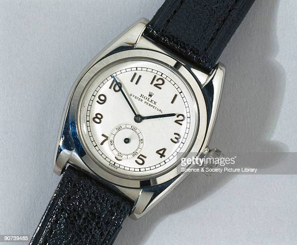 The Rolex Oyster Perpetual rotor selfwinding wristwatch introduced in 1931 incorporated a selfwinding mechanism which became the standard form for...