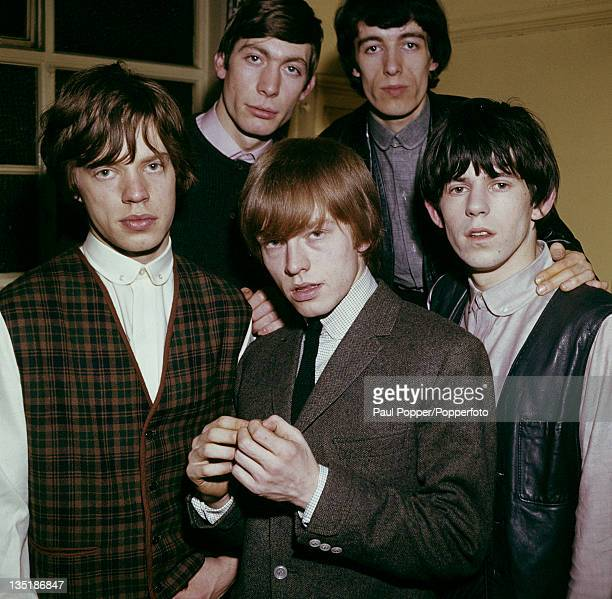 Mick Jagger Charlie Watts Brian Jones Bill Wyman and Keith Richards