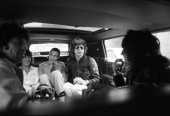 The Rolling Stones are photographed on September 26 1977 on their way to Tracs in New York City CREDIT MUST READ Ken Regan/Camera 5 via Contour by...