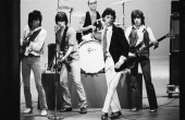 The Rolling Stones during rehearsal New York May 1978 L R Ronnie Wood Keith Richards Charlie Watts Mick Jagger Bill Wyman