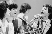 The Rolling Stones during rehearsals New York 1978 L R Ronnie Wood Keith Richards Bill Wyman Mick Jagger