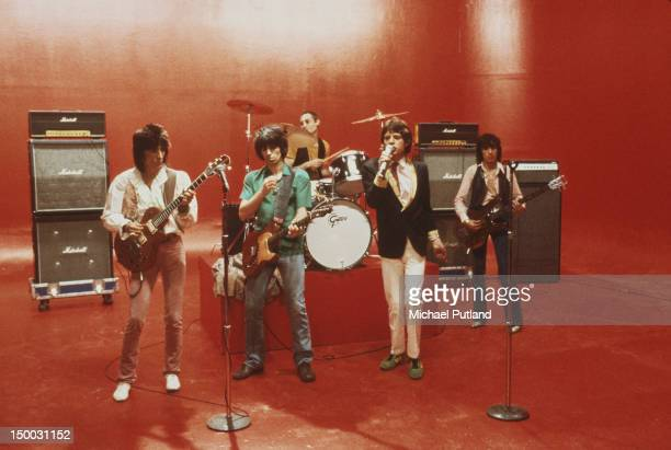 The Rolling Stones in New York City May 1978 Left to right Ronnie Wood Keith Richards Charlie Watts Mick Jagger and Bill Wyman
