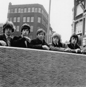 The Rolling Stones London 11th May 1964 Left to right Mick Jagger Keith Richards Charlie Watts Brian Jones and Bill Wyman