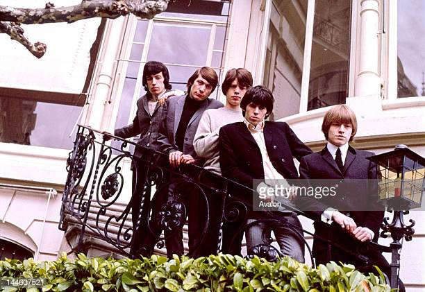 The Rolling Stones taken in 1964 from left to right Bill Wyman Charlie Watts Mick Jagger Keith Richards and Brian Jones