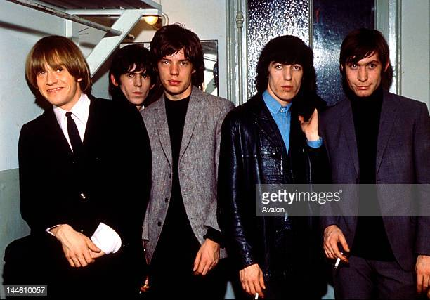 The Rolling Stones taken in the 1960s from left to right Brian Jones Keith Richards Mick Jagger Bill Wyman and Charlie Watts