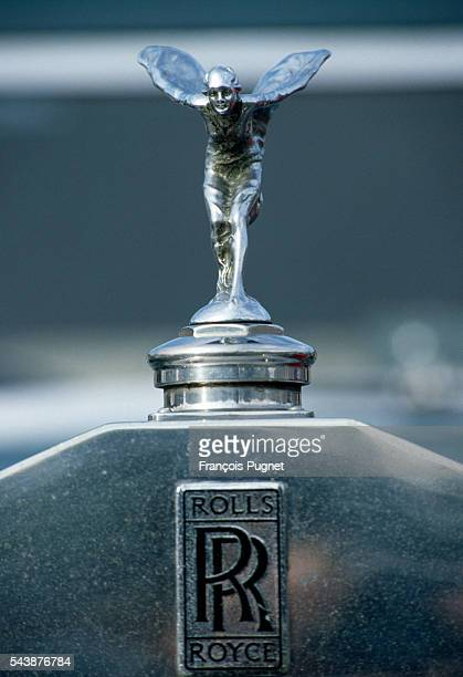 The Rolls Royce emblem