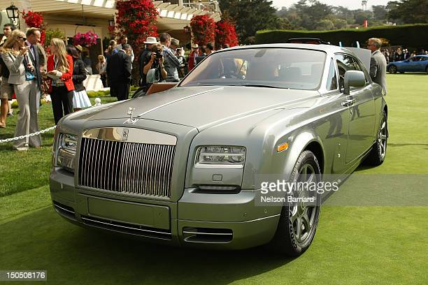 The RollsRoyce Phantom Coupe Aviator on display at the Pebble Beach Concours d'Elegance on August 19 2012 in Pebble Beach California