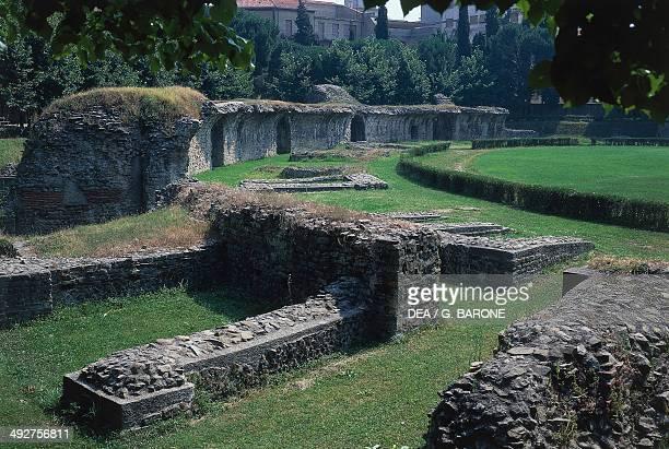The Roman Amphitheatre 1st2nd century AD Arezzo Italy