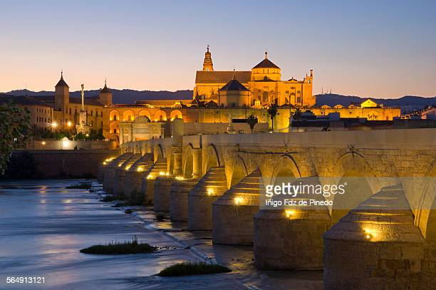 The Roman Bridge and Mosque-Córdoba-Spain