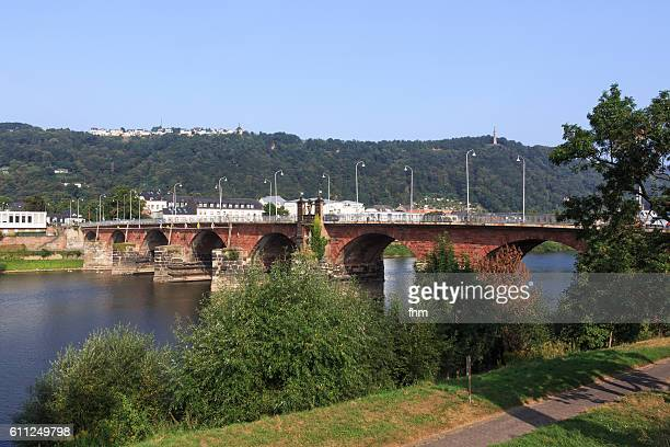 The Roman Bridge (German: Römerbrücke) is an ancient structure in Trier, Germany, over the Moselle