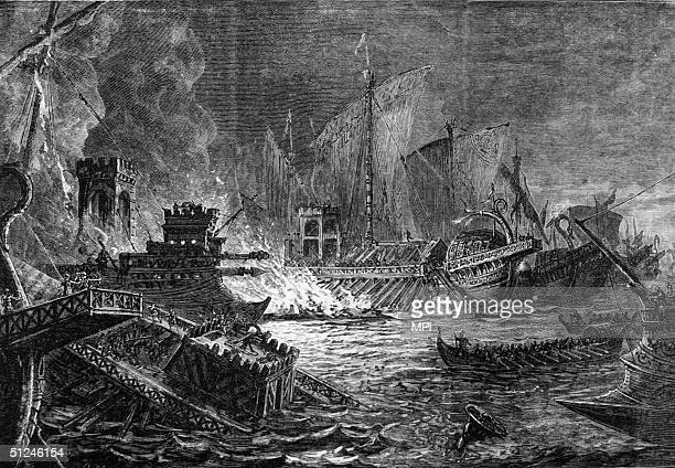 31 BC The Roman fleet of Octavian clashes with the combined RomanEgyptian fleet commanded by Mark Antony and Cleopatra in the Battle of Actium off...