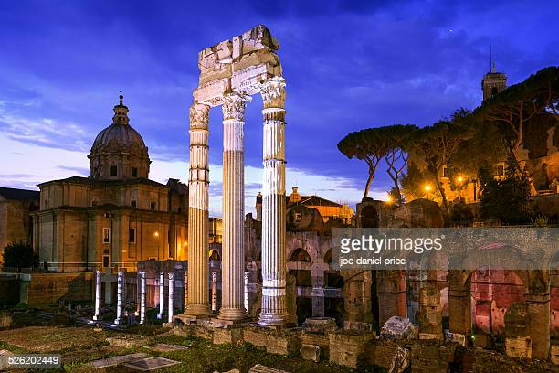 The Roman Forum, Santi Luca e Martina Church, Rome