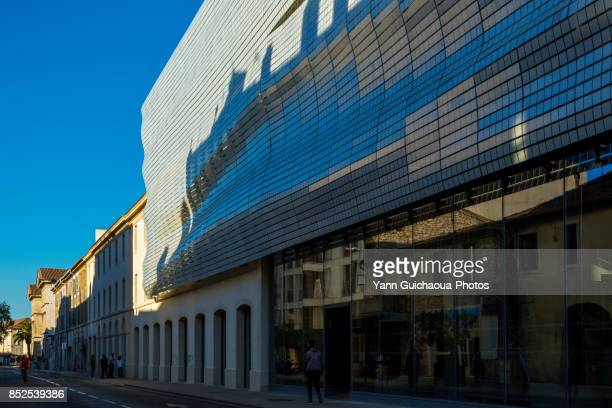 The Roman museum, Nimes, Gard, Occitanie, France