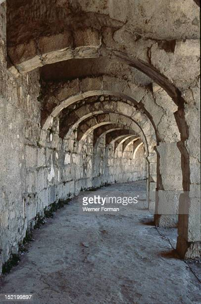 The Roman Theatre at Aspendos It was built by the architect Zeno and is the most perfectly preserved of all Roman theatres It is estimated that it...