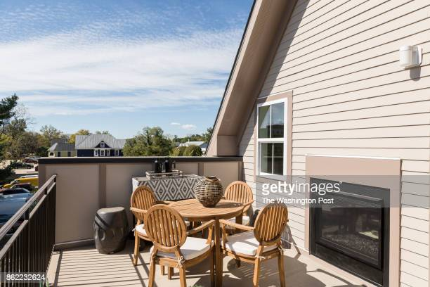 The Roofdeck on the model at Mayfair on Main Street on September 29 2017 in Fairfax Virginia