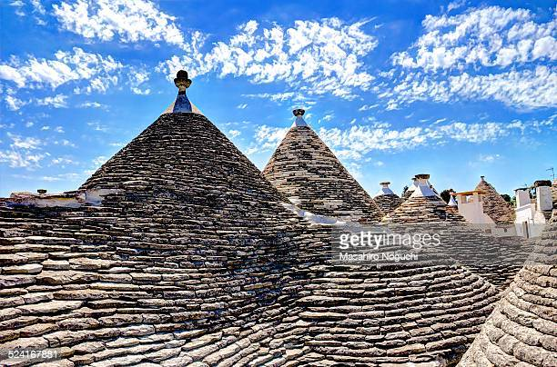 The Roofs of trulli