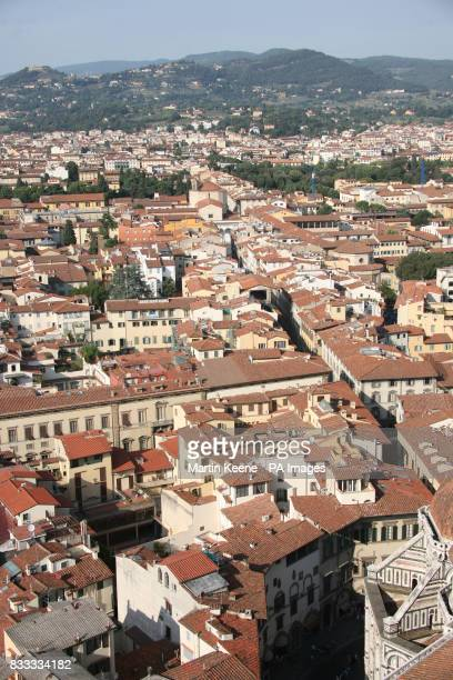 The rooftops of Florence