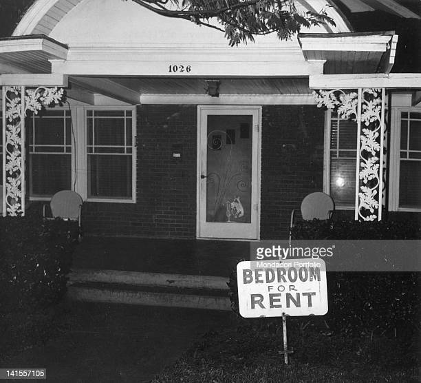 The room rented by Lee Harvey Oswald in Dallas being put on the market again Dallas 1960s