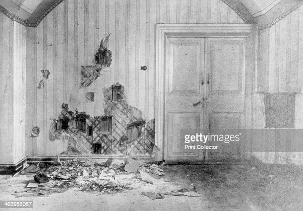 The room where Tsar Nicholas II his family and attendants were executed Yekaterinburg Siberia Russia July 17 1918 Compelled to abdicate in the wake...