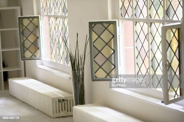 The rooms of the Liberal IbnRushdGoethe mosque are pictured in Berlin Germany on June 20 2017