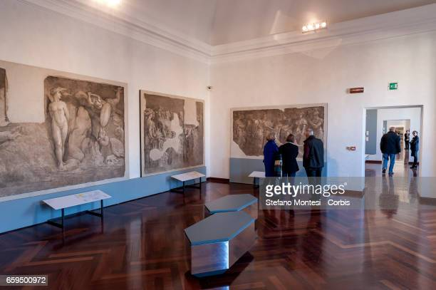 The rooms of the new Museum of Rome at Palazzo Braschi Piazza Navona opened on March 28 2017 in Rome Italy