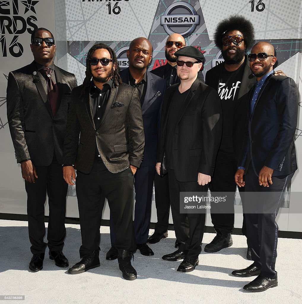 The Roots attend the 2016 BET Awards at Microsoft Theater on June 26, 2016 in Los Angeles, California.