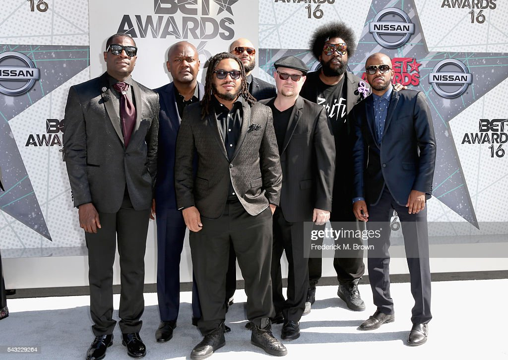 The Roots attend the 2016 BET Awards at the Microsoft Theater on June 26 2016 in Los Angeles California