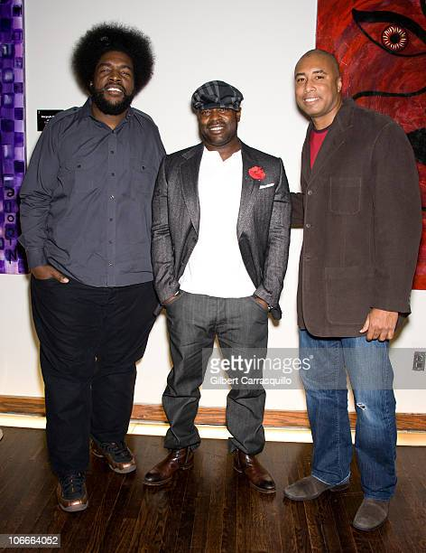 The RootsÕ Questlove Black Thought and New York Yankees icon Bernie Williams attend the Ten O'Clock Classics 7th Annual Gala at The Union Square...