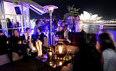 The Rosemount Wine Bar is seen on the first day of Rosemount Australian Fashion Week Spring/Summer 2009/10 at the Overseas Passenger Terminal on...