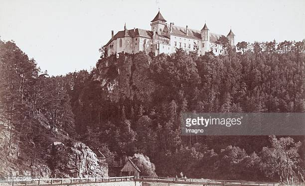 The Rosenburg at the Kamp About 1885 Photograph by Amand Helm / Vienna Photograph Das Schloss Rosenburg an der Kamp Um 1885 Photographie von Amand...
