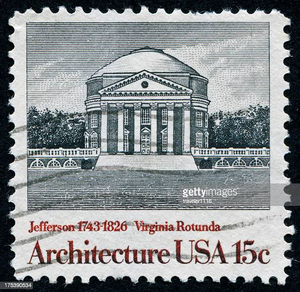 The Rotunda In Charlottesville, Virginia
