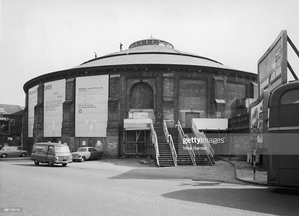 The Roundhouse in Chalk Farm north London 15th August 1967 Arnold Wesker's 'Centre 42' arts charity which leases the building is appealing for funds...