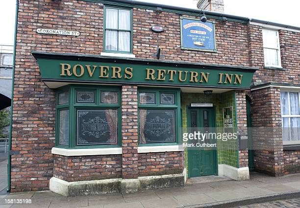 The Rovers Return Inn On The Set Of Coronation Street At Granada Studios In Manchester During The Soap's 50Th Anniversary Year