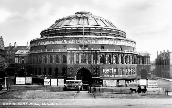 The royal albert hall kensington london early 20th for Door 9 royal albert hall