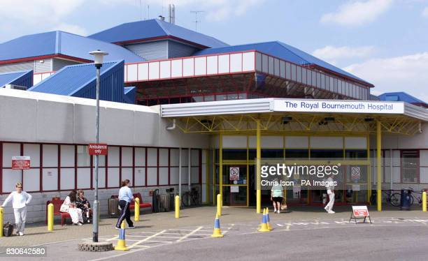 The Royal Bournemouth Hospital in Dorset which has been criticised in an ombudsman's report after the death of 32 year old Tracy Collier in 1997...