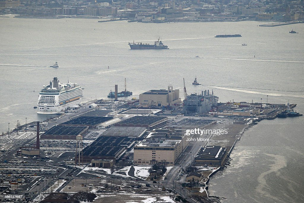 The Royal Caribbean cruise ship 'Explorer of the Seas' sits in port after more than 600 people became sick during a cruise on January 31 in Bayonne, New Jersey. The stomach sickness broke out three days into a scheduled 10-day tour.