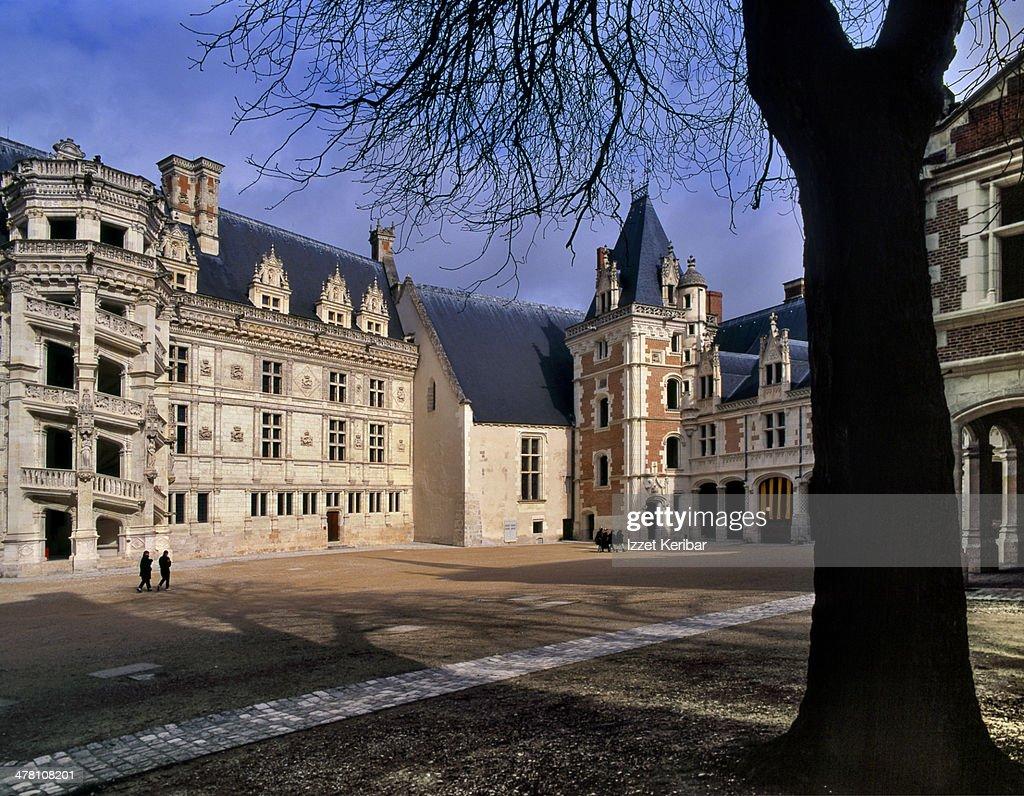 The Royal Chateau de Blois on loire Valley