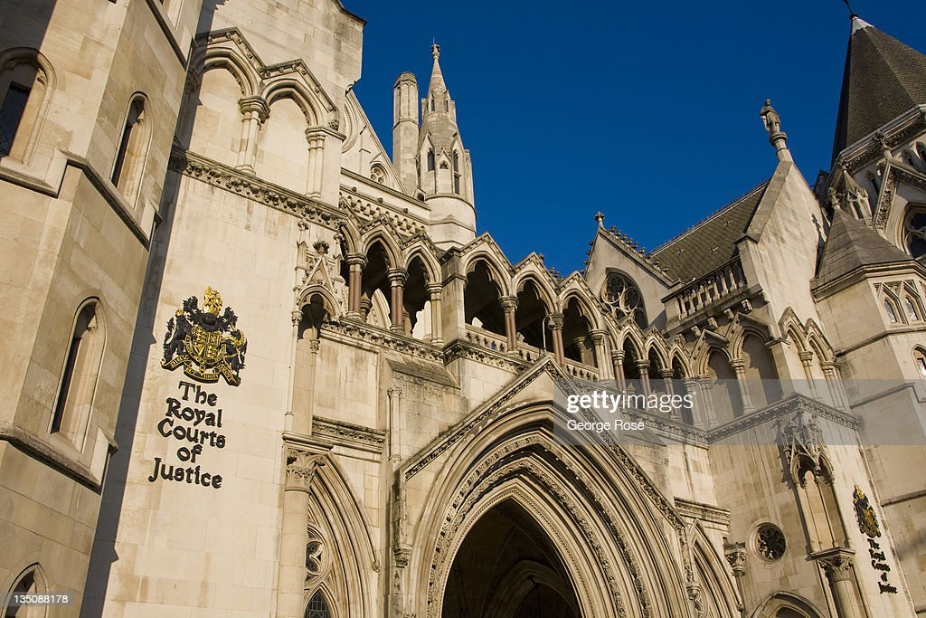 The Royal Courts of Justice building is viewed on November 19 2011 in London England An unusually warm day in Central London greeted tourists...