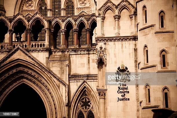 The Royal Courts of Justice Building, London
