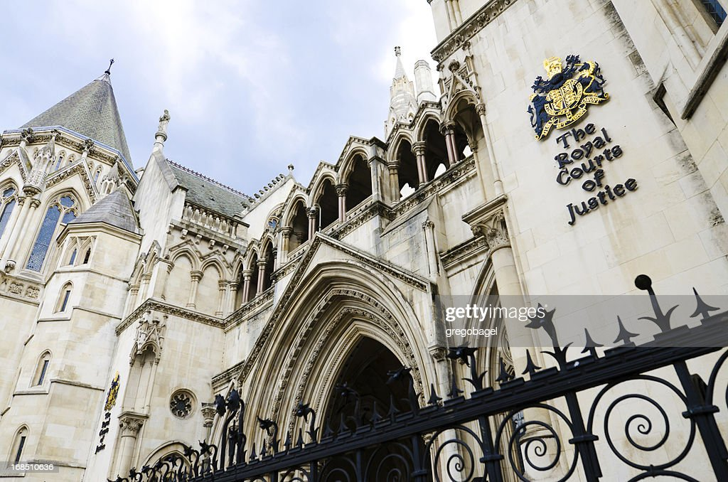 The Royal Courts of Justice in London, England