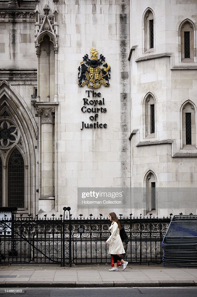 The Royal Courts of Justice London