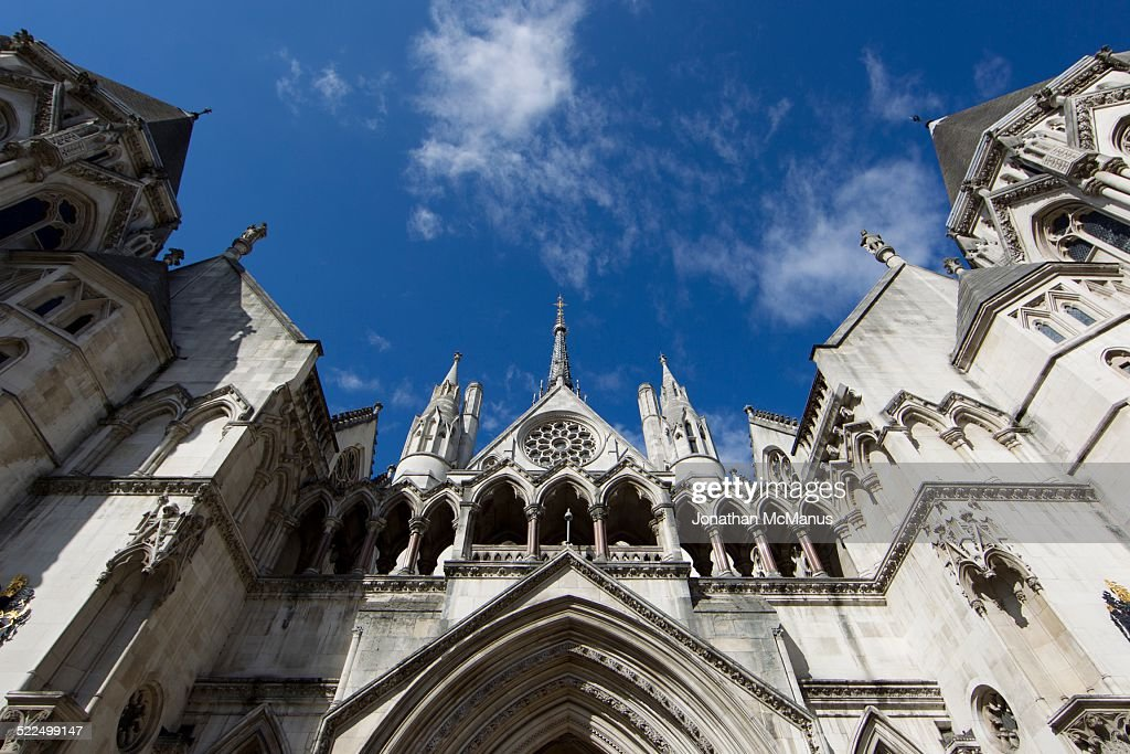 The Royal Courts of Justice Taken on 24 September 2014