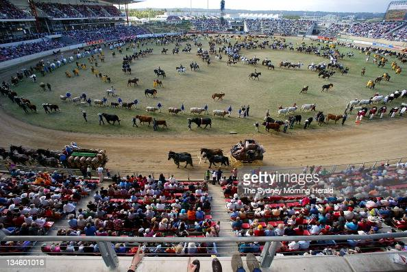 The Royal Easter Show grand parade and official opening on Tuesday 15 April 2003