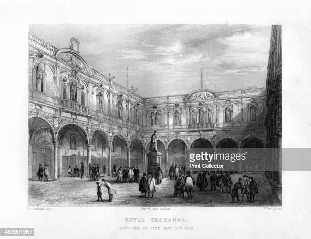 The Royal Exchange London 19th century